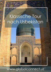 Klassische Tour nach Usbekistan